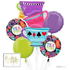 mylar balloon bouquet andaz press balloon bouquet party kit with gold cards