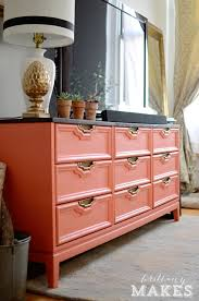 Diy Painted Furniture 10 Painted Dressers You Can U0027t Miss Coral Dresser Dresser And Coral