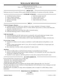 Loan Officer Resume Sample by Security Officer Sample Resume Sample Resume For Security Officer
