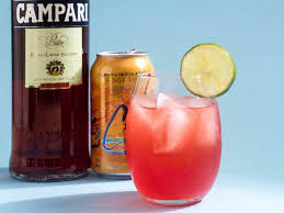campari citrus spritzer easy lacroix tangerine and campari cocktail