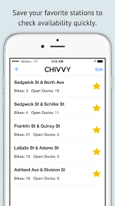Divvy Bike Map Chicago by Chivvy Chicago U0027s Best Divvy Bikes App