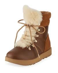 ugg sale neiman ugg viki water resistant mixed leather boot neiman