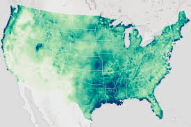 United States Radar Map by Soil Moisture In The United States Image Of The Day
