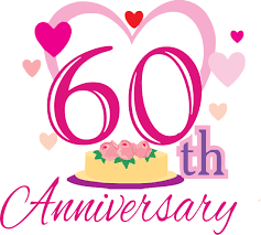 60 wedding anniversary print advertisement idea design creative wedding anniversary