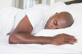Man Sleeping In Bed Will A Special Pillow Or Other Sleep Adjustments Improve My Neck