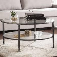Round Table Granite Bay Round Coffee Tables You U0027ll Love Wayfair