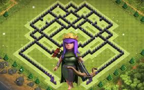 layout vila nivel 9 clash of clans clash of clans melhor layout de defesa para centro de vila 9 best