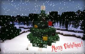 Decorate Christmas Tree Minecraft by So Only A