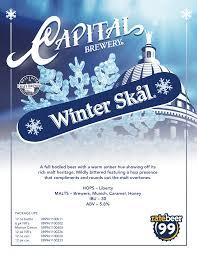 capital brewery to release winter skål on november 1 brewbound