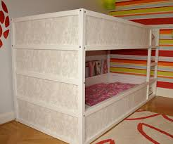 Bunk Bed With Cot Bunk Bed Frames Ikea Frame Decorations