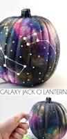 Old World Halloween Ornaments Galaxy Pumpkin An Out Of This World Jack O Lantern Diy