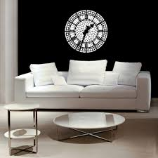big ben clock face london decor london decal english details big ben wall decal