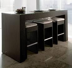 table de cuisine haute avec tabouret contemporaine 2 personne table haute de cuisine avec tabouret ronde