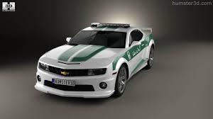 police camaro 360 view of chevrolet camaro police dubai 2013 3d model hum3d store