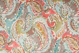 Clearance Drapery Fabric Paisley Drapery Prints Drapery Fabric Discount Paisley Curtain