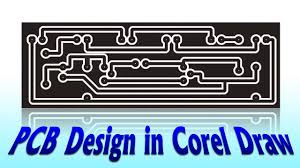 pcb design in corel draw electronics projects fast u0026 easy