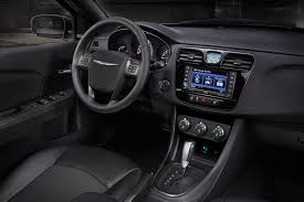 2015 Chrysler 200 Interior 2015 Chrysler 200 Spied In Michigan