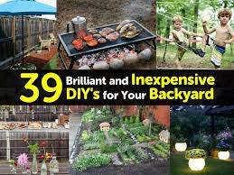 39 brilliant and inexpensive diy u0027s for your backyard