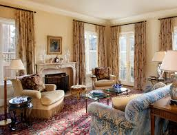 Family Room Curtains Ideas Living Room Traditional With Custom - Family room curtains ideas