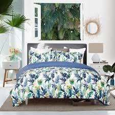 beautiful blue purple ink printed duvet cover set 50 off this