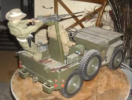 military jeep with gun gi joe 5 star jeep with cotswold resin 50 machine gun