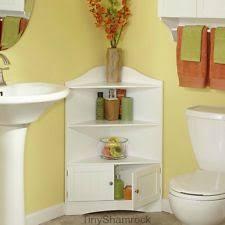 bathroom corner cabinets ebay