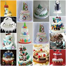 18 amazing christmas cake decorations your perfect christmas