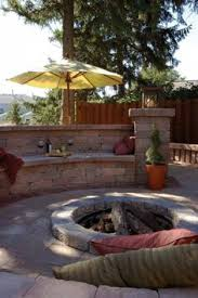 Unilock Fireplace Kits Price Unilock Fire Pit With Rivercrest Wall Homeowner Fireplaces