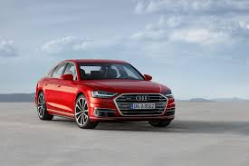 audi ads new audi a8 is the first car to benefit from new german self