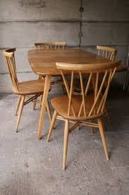 Ercol Dining Room Furniture Beautiful 1960s Elm Ercol Dining Table U0026 Chairs Mueble
