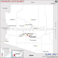 map of chandler az is chandler arizona