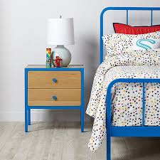 primary nightstand blue the land of nod