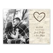 rustic save the date cards rustic save the dates invitations by
