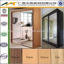armoire chambre portes coulissantes 2 portes coulissantes armoire avec des miroirs meubles de chambre