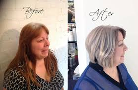 how long for hair to grow out of inverted bob how to helping your client grow out her natural white gray hair