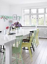 Simple White Dining Room Honeysuckle Life 5616 Best Images About Design On Pinterest White Walls