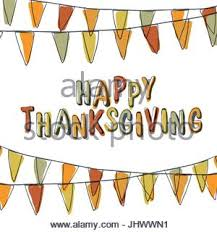 happy thanksgiving day lettering with yellow autumn
