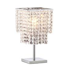 Lamp Harp Home Depot by Zuo Falling Stars 16 1 In Chrome Table Lamp 50010 The Home Depot