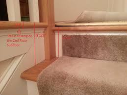 wood floor installation at top of stairs 20150114 185711 copy jpg
