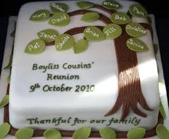 26 best family reunion cakes images on family reunion