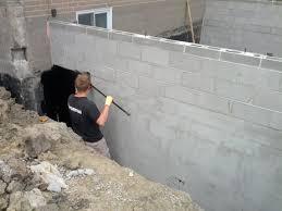 Parge Basement Walls by Parging And Waterproofing Norseman Construction U0026 Development Ltd