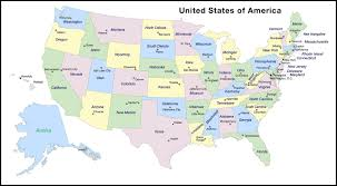 The Map Of United States Of America by Map Of United States America With And Capitals Fair The United