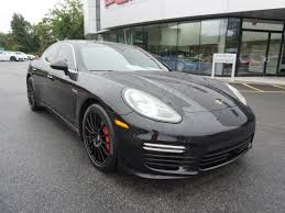pre owned panamera porsche certified pre owned 2014 porsche panamera turbo hatchback in