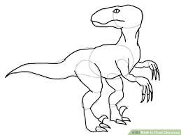 5 ways draw dinosaurs wikihow