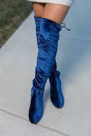yoox s boots blue velvet boots yoox fashion a gallon of glitter