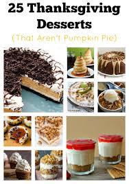 25 alternatives to pumpkin pie