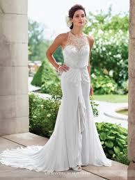 blouson wedding dress sleeveless chiffon a line wedding dress 117192 enchanting by