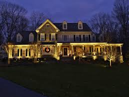 Christmas Lights For House by Christmas Landscape Lighting Christmas Lights Decoration