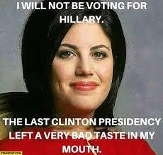 Monica Lewinsky Meme - monica lewinsky hillary clinton vote monica lewinsky politics and