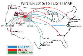 Atlanta Airport Map Delta by Hit The Slopes With Direct Flights To Jackson Hole Teton Lodge Blog